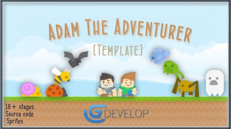 Gdevelop Platformer Game template - Download