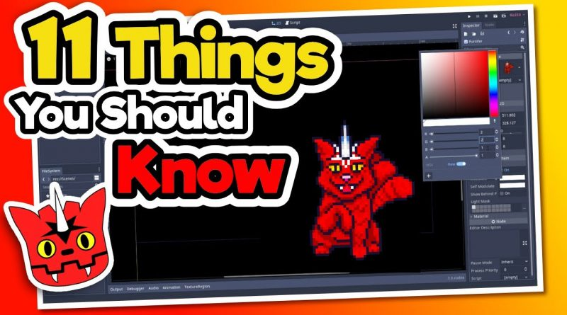 11 Things About Godot We Wish We Knew Earlier - Godot Engine Tutorial