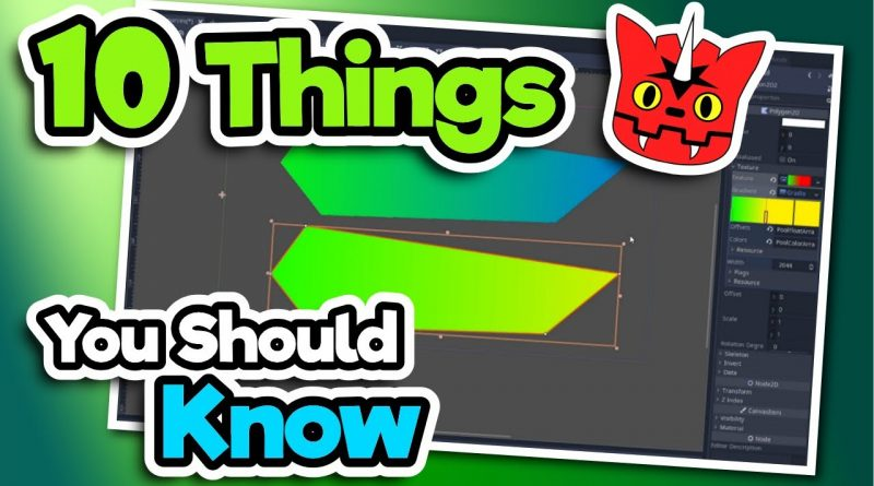10 Things About Godot We Wish We Knew Earlier - Godot Engine Tutorial