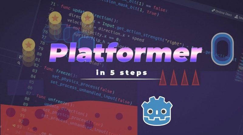 5 Steps to Make a Platformer in Godot Engine