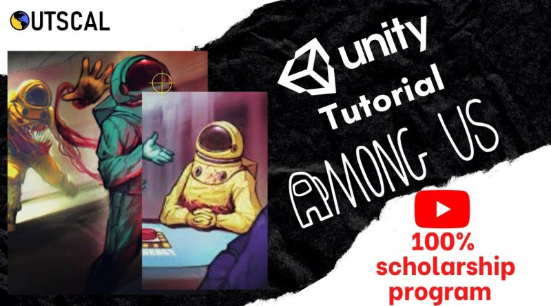 Learn Unity gaming engine | Build Among Us game | Unity tutorial for beginners | Episode 6