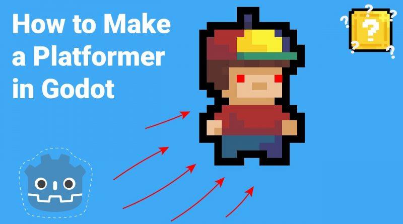 How to Make a 2D Platformer in 20 Minutes (Godot Engine)