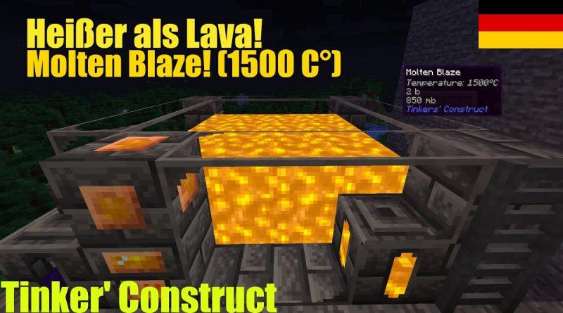 Molten Blaze bekommen!  Tinker's Construct