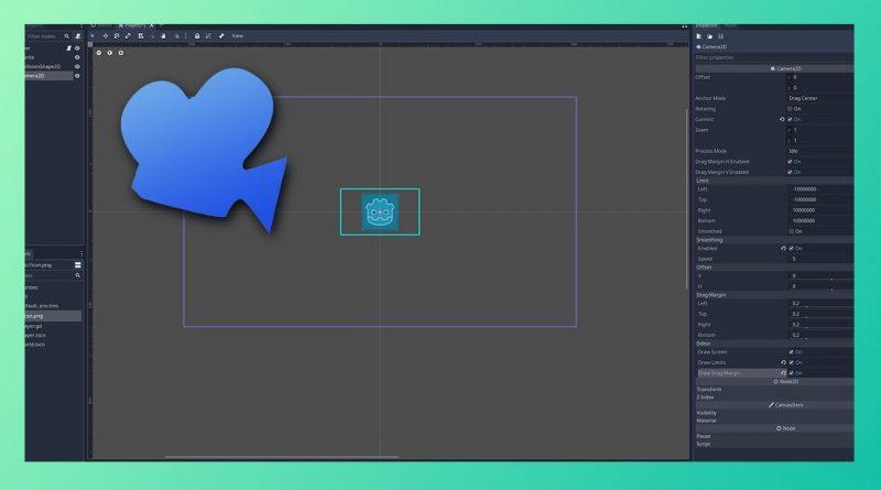 Adding a 2D Camera   Godot Engine Tutorial #02