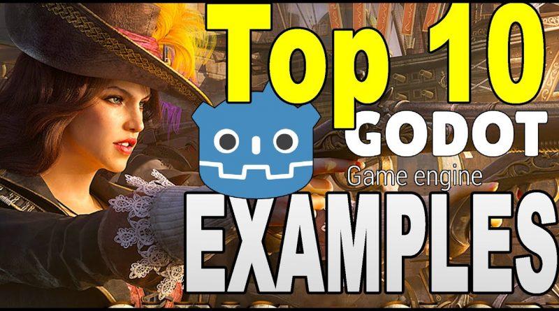 TOP 10 GODOT GAMES ( 2020 Examples)
