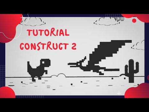 Construct 2/3 Tutorial Dinosaurus Chrome