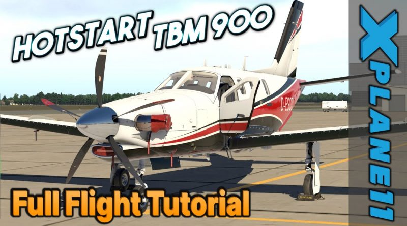 Take Command! Hot Start TBM 900 Full IFR Flight Tutorial [X-Plane 11]