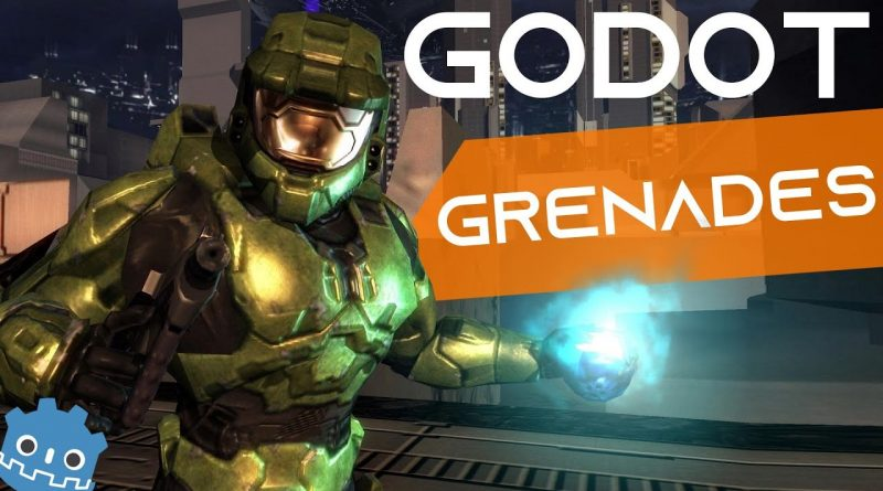 Why Video Game Grenades Don't Work Like Real Grenades - Godot Tutorial