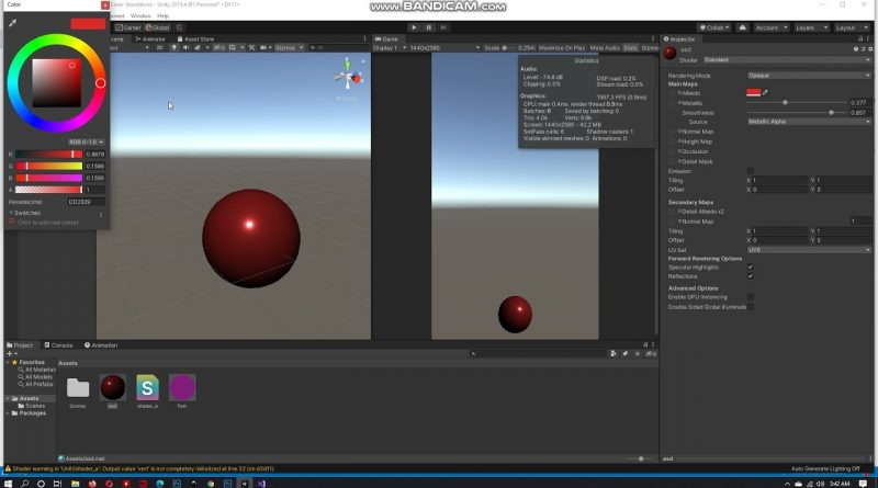 Unity Shader Programming Bootcamp (Urdu/Hindi) #3: create your first material property