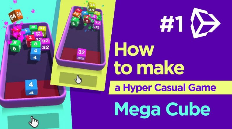 Unity Tutorial - Hyper casual game [ Part 1  ]
