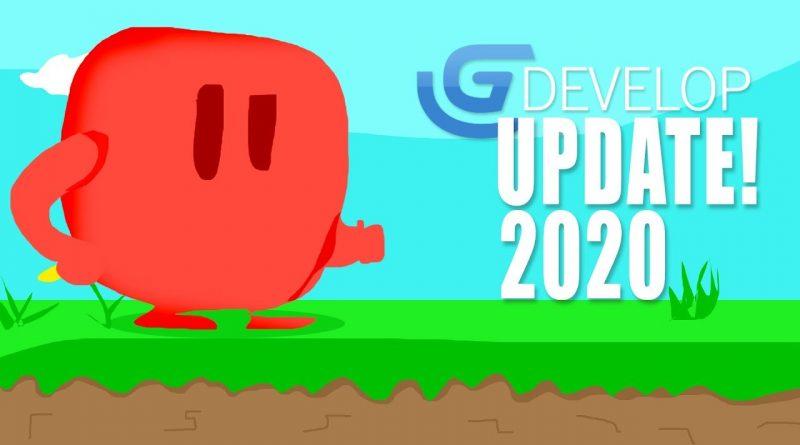 Gdevelop NEW update!!- FREE Game Engine 2020