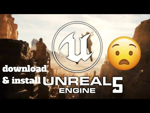 how_to_Download_unreal_engine_5__&_Install Rv info tech unreal engine 4 unreal engine