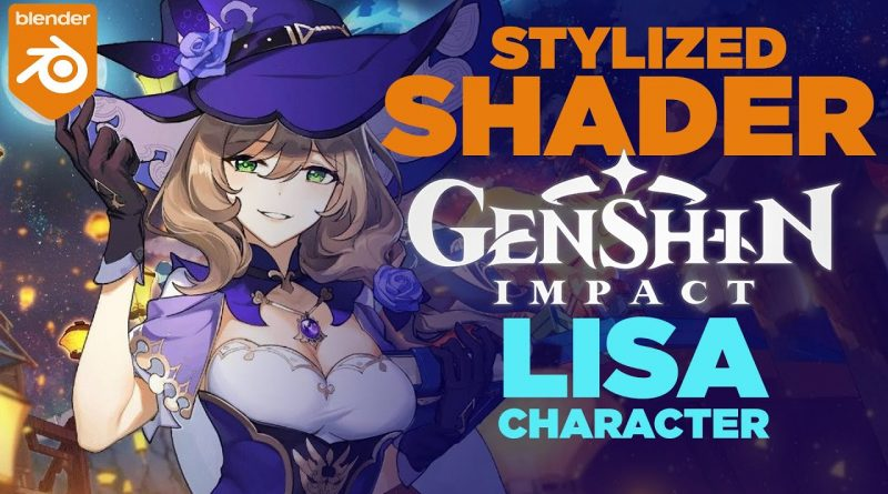Genshin Impact - Shading in Blender (Texture and Shaders SOLVED)