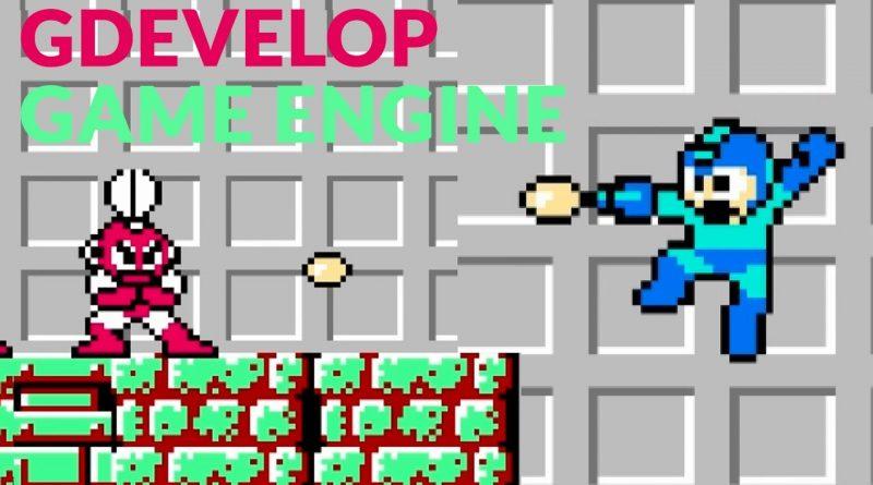 MEGAMAN - Gdevelop Game Engine (template)