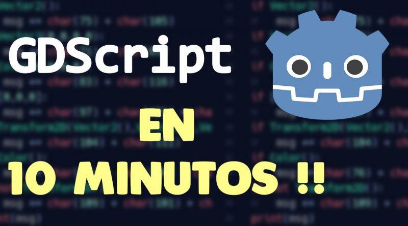 Aprender GDscript en 10 minutos o mas | Godot Engine Tutorial