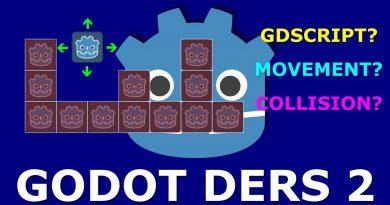 Godot Engine Dersleri - 2