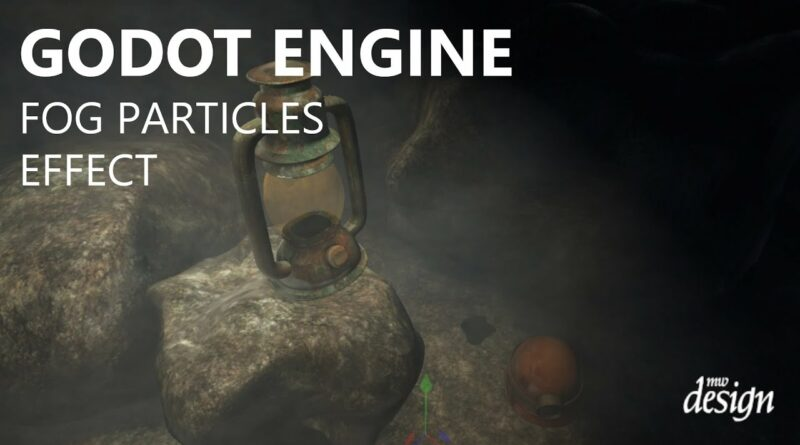 Godot Engine Fog Particles Effect
