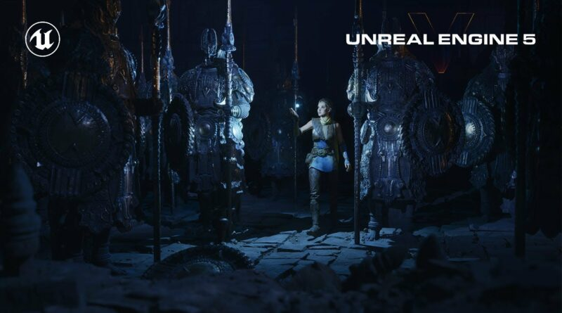 Unreal Engine 5 Feature Highlights | Next-Gen Real-Time Demo Running on PlayStation 5
