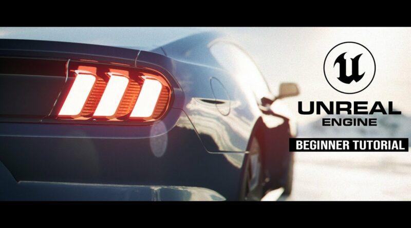 Unreal Engine 5 Beginner Tutorial: Creating a Cinematic Car Shot