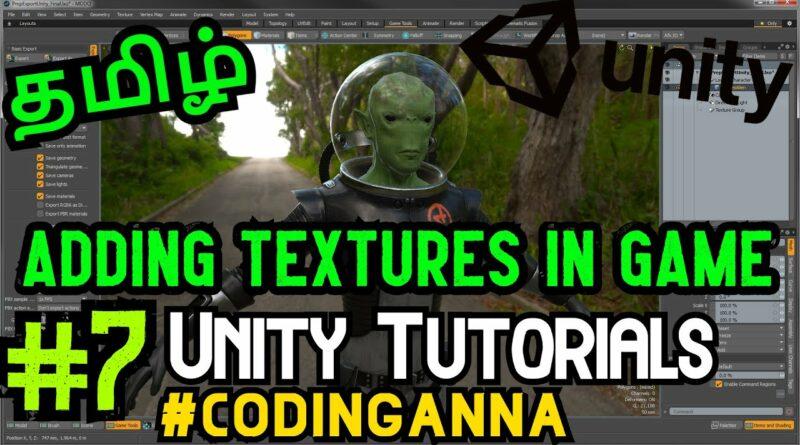 #7 Adding Textures in Unity || Unity Tutorials || #CodingAnna