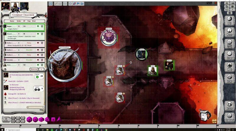 FGU Player Combat Tutorial | 5e | Fantasy Grounds Unity