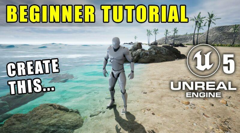 Unreal Engine 5 Beginner Tutorial: Getting Started