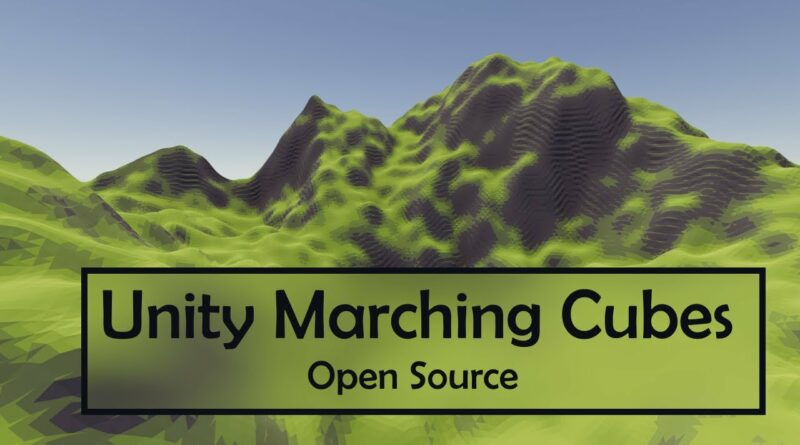 Open Source Marching Cubes in Unity | Triplanar Shader