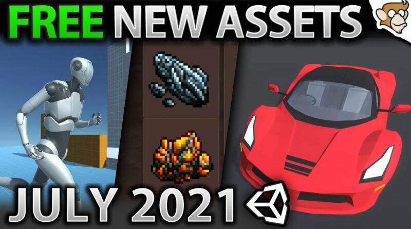 TOP 10 FREE NEW Assets JULY 2021!   Unity Asset Store