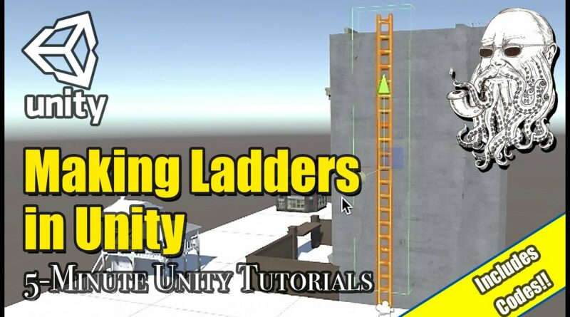 How to Make Simple Ladders in Unity   5 Minute Unity Tutorials