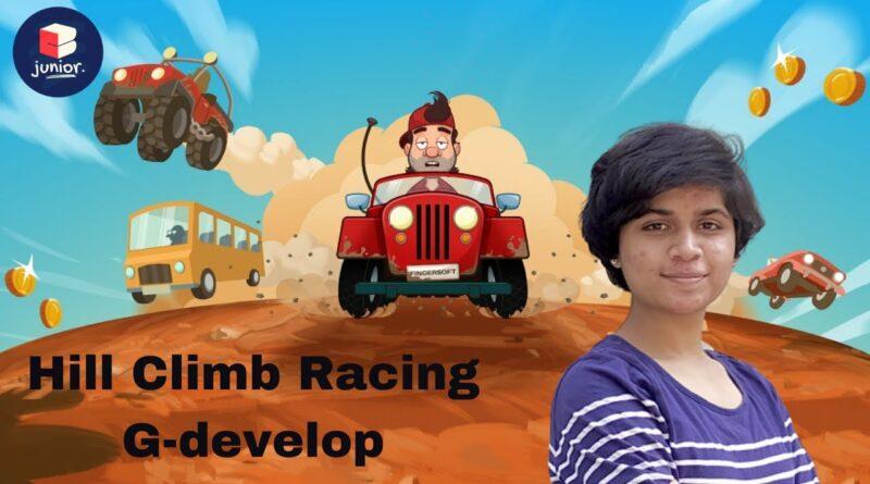 Hill Climb Racing | G-Develop Tutorial | Coding for Kids | Coding Blocks Junior