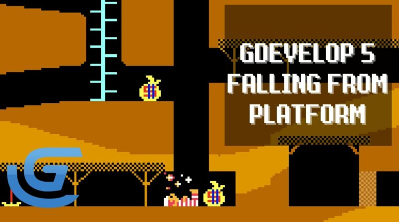 GDevelop 5 Player Falling to Death or Damage