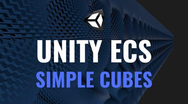 #14 Unity ECS - Creating an Entity - Unity Tutorial