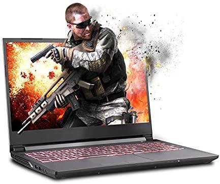 Sager NP7859PQ 15.6-Inch Thin Bezel FHD 144Hz Gaming Laptop, Intel i7-11800H, RTX 3060 6GB, 32GB RAM, 1TB NVMe SSD, Windows 10