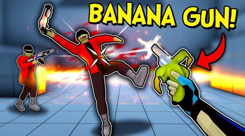 Adding a Banana Gun to my Game!