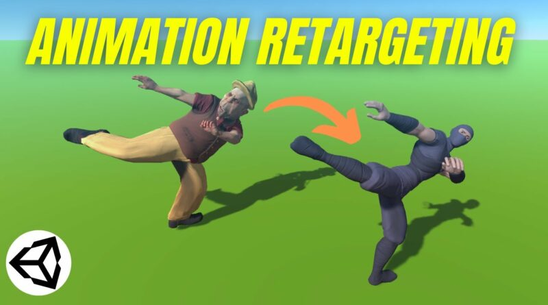 Animation Retargeting (Unity Tutorial)
