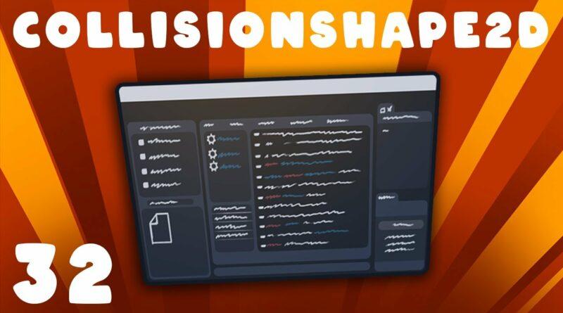 CollisionShape2D   Godot Basics Tutorial   Ep 32